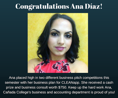 Ana Díaz impresses with her CLEANapp business pitch!